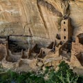 Square Tower House ruin. Tours are available for only a few weeks in spring and fall.- Chapin Mesa