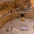Kiva attached to a pit house on Chapin Mesa.- Chapin Mesa