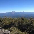 Mount Lassen (10,463) as seen from Magee Peak.- Magee Peak