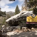 Mound San Jacinto State Park is accessible by tram from the valley floor.- Round Valley Loop