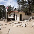 The ranger station where you can grab a self-issued permit prior to your hike.- Round Valley Loop