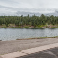 Boat ramp (not in the Forest Service day use area).- Haviland Lake