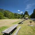 Olallie State Park's South Fork Picnic Area.- South Fork Snoqualmie River Picnic Area
