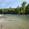 Snoqualmie River at Plum Boat Launch.- Snoqualmie River Float