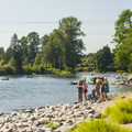 Plum Boat Launch.- Snoqualmie River Float