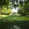 Lower picnic area at Al Borlin Park.- Skykomish River, Al Borlin Park