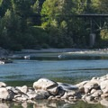 Floaters on the Skykomish River.- Skykomish River, Big Eddy Park