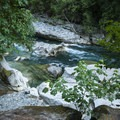 Eagle Falls Swimming Hole.- Eagle Falls Swimming Hole