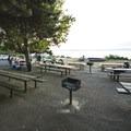 Picnic amphitheater at Carkeek Park.- Carkeek Park