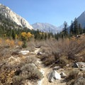Upper Woods Creek.- Rae Lakes Loop