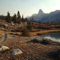 View of Fin Dome.- Rae Lakes Loop