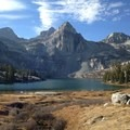 View of Rae Lakes Basin.- Rae Lakes Loop