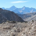 View from Glen Pass.- Rae Lakes Loop