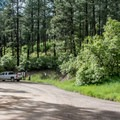 Camground entrance.- Junction Creek Campground