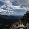 The summit of Black Butte.- Black Butte