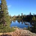 South shore of Rock Lake.- Rock Lake + Jamison Lake