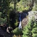 Little Jamison Falls.- Rock Lake + Jamison Lake
