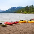 The preserve provides free kayaks on a first-come, first-served basis.- Independence Lake Preserve