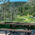 Pa-Co-Chu-Puk Campground is nicely situated by the Uncompahgre River.- Pa-Co-Chu-Puk Campground
