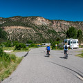 Campground roads are great for biking.- Pa-Co-Chu-Puk Campground