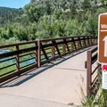 Walk-in tent sites are across the bridge – not a short walk!- Pa-Co-Chu-Puk Campground