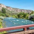 Uncompahgre River.- Pa-Co-Chu-Puk Campground