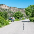 Typical campground road.- Pa-Co-Chu-Puk Campground