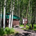 The facilities are older but serviceable.- Silver Jack Campground