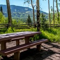 Picture yourself having morning coffee here!- Silver Jack Campground