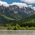 Silver Jack Lake is nestled in the Cimmaron Range, considered part of the San Juan Mountains.- Silver Jack Lake