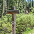 Don't miss the one sign for the mine trail!- Ironton + Colorado Boy Mine