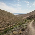 Evans Canyon Trail.- Evans Canyon/Miner's Trail Loop