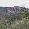 The loop traverses the base of Mount Elden.- Fatman's Loop Trail