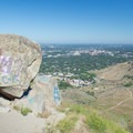 A view of downtown Boise from the summit.- Table Rock