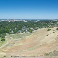 The view from the top of Castle Rock over the Treasure Valley.- Castle Rock