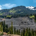 More abandoned mining sites sit across the highway from Yankee Girl.- Yankee Girl Mine