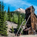 Yankee Girl Mine is one of the most photographed sites in Colorado.- Yankee Girl Mine