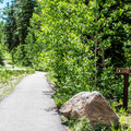 A trail leads from the campground to Sunset Lake, a five-minute walk.- Jumbo Campground