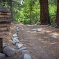 The trail leaves the Galena Creek Recreation Area and enters the Mount Rose Wilderness Area.- Jones Whites Creek Loop