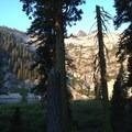 Another look at Granite Lake. - Granite Lake + Seven Up Pass