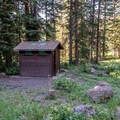 The facilities are a bit old and tired.- Spruce Grove Campground