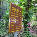 Start of the Kalalau Trail from Ke'e Beach.- Kalalau Trail