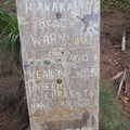Hanakapiai Beach warning along the trial.- Kalalau Trail