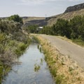 A small canal follows the Greenbelt for portions of this section.- Boise River Greenbelt