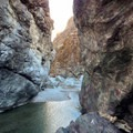 Finding a way through the Gorge. - Thomes Gorge