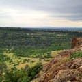 The Sacramento Valley from the North Rim.- Upper Bidwell Park