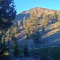 Mount Eddy during sunset. - Deadfall Lakes + Mount Eddy