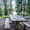Lakeview campsite.- Ward Lake Campground