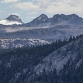 Mount Lyell and the Lyell Glacier lie on Yosemite's eastern boundary.- Yosemite National Park