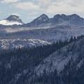 Mount Lyell and the Lyell Glacier lie on Yosemite's eastern boundary.- Yosemite National Park
